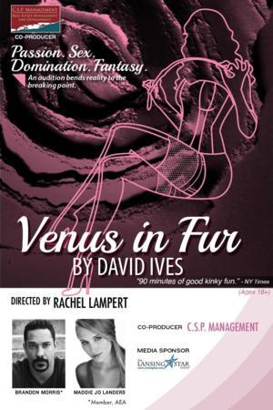 Kitchen Theatre to Present David Ives' VENUS IN FUR, 1/22-2/9