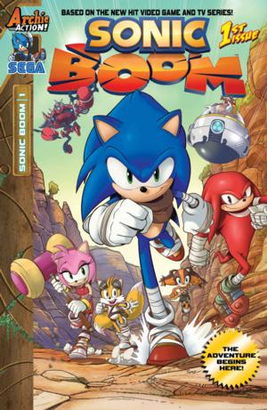 Archie Comics and SEGA Announce Plans For Sonic Boom Comic Book Series