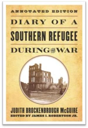 DIARY OF A SOUTHERN REFUGEE DURING THE WAR Wins the General Basil W. Duke Literary Award