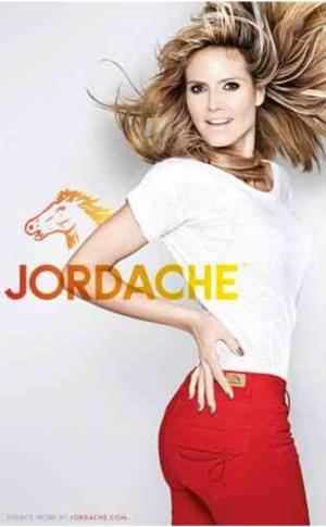 Heidi Klum Stars in New Jordache Campaign