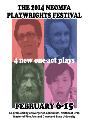 2014 NEOMFA Playwrights Festival Begins Today
