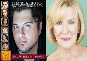 Broadway Legend Joy Franz Completes Cast of TIM REALBUTO: ALONE (WITH PLENTY OF HELP), 7/24