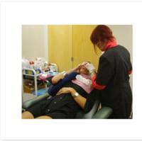 Permanent Makeup Expert  Demonstrates Permanent Eyeliner Procedure