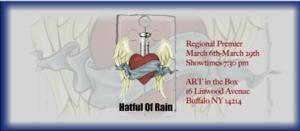 ART of WNY to Present HATFUL OF RAIN, Begin. 3/6
