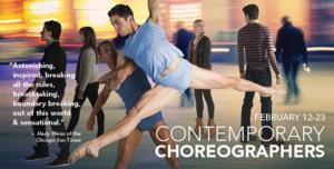 The Joffrey Ballet Presents CONTEMPORARY CHOREOGRAPHERS, 2/12-23