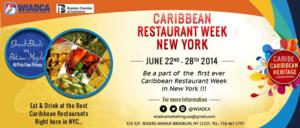 WIADCA and Brooklyn Chamber Announce First Ever Caribbean Restaurant Week, 6/22-28