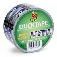 Now Available...Justin Bieber Branded DUCK TAPE?