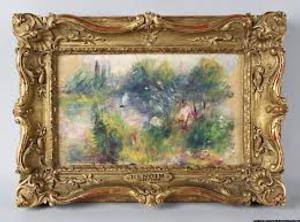 STAGE TUBE: Missing Renoir Painting Subject of Legal Dispute - Trash or Treasure?