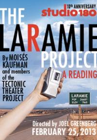 Studio 180 Theatre Celebrates 10 Years With a Reading of THE LARAMIE PROJECT, 2/25