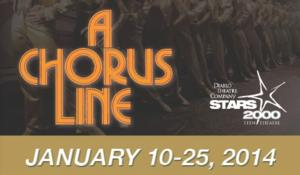 Diablo's STARS 2000 Teen Theatre Presents A CHORUS LINE, Now thru 1/25