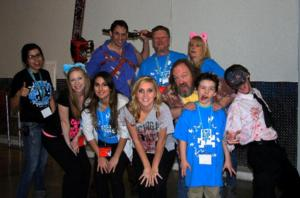 Cast of EVIL DEAD Attends LVLUP Gaming & Technology Expo