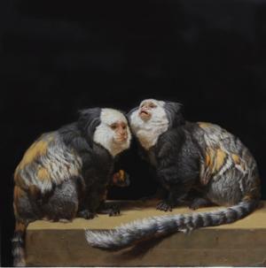 Gallery Henoch Presents Patricia Traub's CAPTIVE GEOFFREY'S MARMOSETS