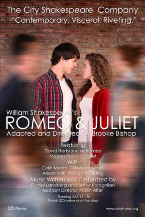 City Shakes Offers Gritty, Real-World Production of ROMEO AND JULIET, 7/11-26