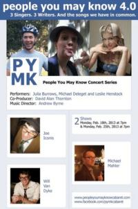 Music from Joe Iconis, Michael Mahler and Will Van Dyke Set for PEOPLE YOU MAY KNOW, 4.0