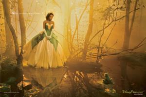 VIDEO: First Look - Jennifer Hudson's Official Photo Shoot as Disney's 'Tiana'