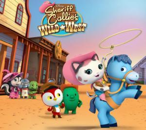 Disney Junior's SHERIFF CALLIE'S WILD WEST Corrals Record Ratings