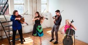 String Quartet ETHEL Performs GRACE Today
