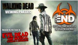 EVIL DEAD Hosting WALKING DEAD Viewing Parties at The End