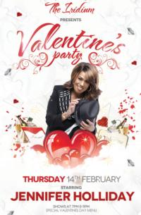 Tony Winner Jennifer Holliday to Headline The Iridium's Valentine's Day Party, 2/14