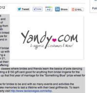 Yandy.com to Participate in the Worlds Largest Bachelorette Party