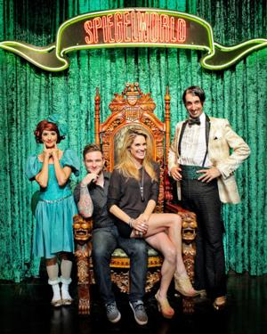 SIGHTING: Actress Tiffany Michelle and Singer Blake Lewis Attend ABSINTHE at Caesars Palace