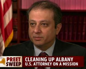 MSNBC's Ari Melber Nabs First Interview with U.S. Attorney Preet Bharara