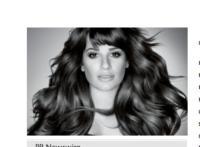 Lea Michele Announced As L'Oreal Paris Newest Brand Ambassador