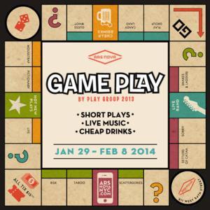 GAME PLAY Opens Tomorrow at Ars Nova