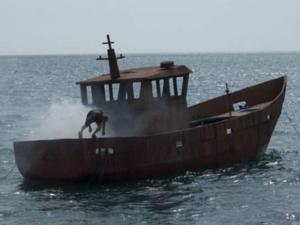 Artist Simon Faithfull Sinks Boat for Art's Sake