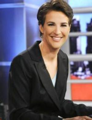 MSNBC's THE RACHEL MADDOW SHOW Tops A25-54 Demo, Week of 1/6