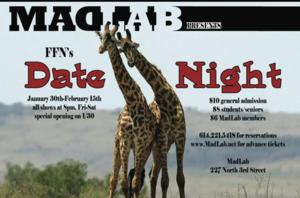 MadLab Theatre to Present FFN'S DATE NIGHT 2014, 1/30-2/15
