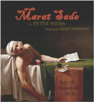 MARAT/SADE to Open 7/19 at California Stage