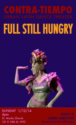 LA-Based Dance Company Contra-Tiempo to Bring FULL STILL HUNGRY to NYC, 1/12