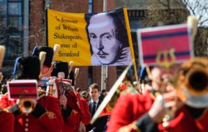 The Royal Shakespeare Company Celebrates Shakespeare's 450th Birthday with Fireworks and Weekend Long Activities