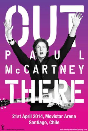 Paul McCartney to Bring 'Out There' Tour to Chile in April