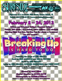 BREAKING UP IS HARD TO DO to Open at Surfside Players, 2/8