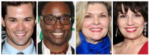 Andrew Rannells, Billy Porter, Debra Monk, Beth Leavel & More Added to BROADWAY BACKWARDS Lineup