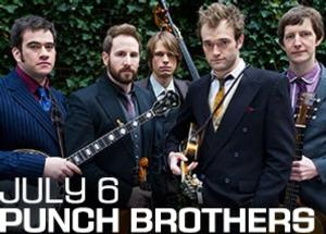 Punch Brothers to Perform July 6 at Deer Valley Resort