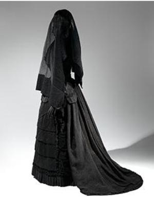 The Met Museum Presents DEATH BECOMES HER: A CENTURY OF MOURNING ATTIRE, 10/21-2/1