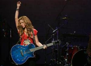 Shakira Performs Live Concert on TODAY