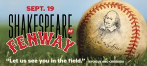 Tickets to Commonwealth Shakespeare's SHAKESPEARE AT FENWAY On Sale this Week