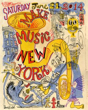 Make Music New York 2014 Presents Concerts Across All Genres; Kicks Off the First Day of Summer, 6/21