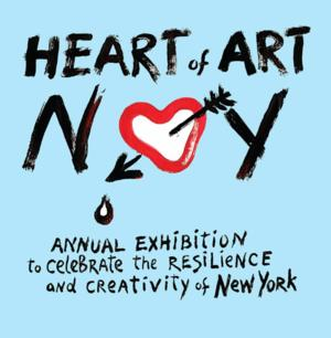 HEART OF ART Opens 8/28 at Anna Zorina Gallery