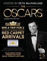 Regal Entertainment Group Announces Regal Oscar Movie Week At 118 Locations