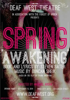 Michael Arden to Helm Deaf West's SPRING AWAKENING with Choreographer Spencer Liff This Fall