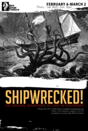 'SHIPWRECKED!' to Play New Stage Theatre, 2/6-3/2