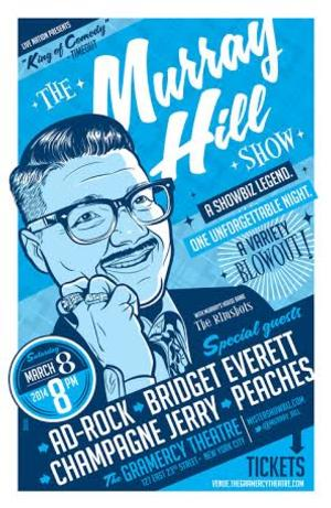 The Murray Hill Show to Play at The Gramercy Theatre, 3/08