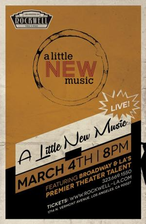 Tony Winner Daisy Eagan Hosts A LITTLE NEW MUSIC IV at Rockwell Table & Stage Tonight
