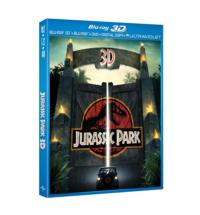 Steven Spielberg's JURASSIC PARK 3D Comes to Blu-ray, DVD & Digital Download Today