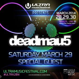 Ultra Music Festival Announces Special Guest deadmau5, 3/29
